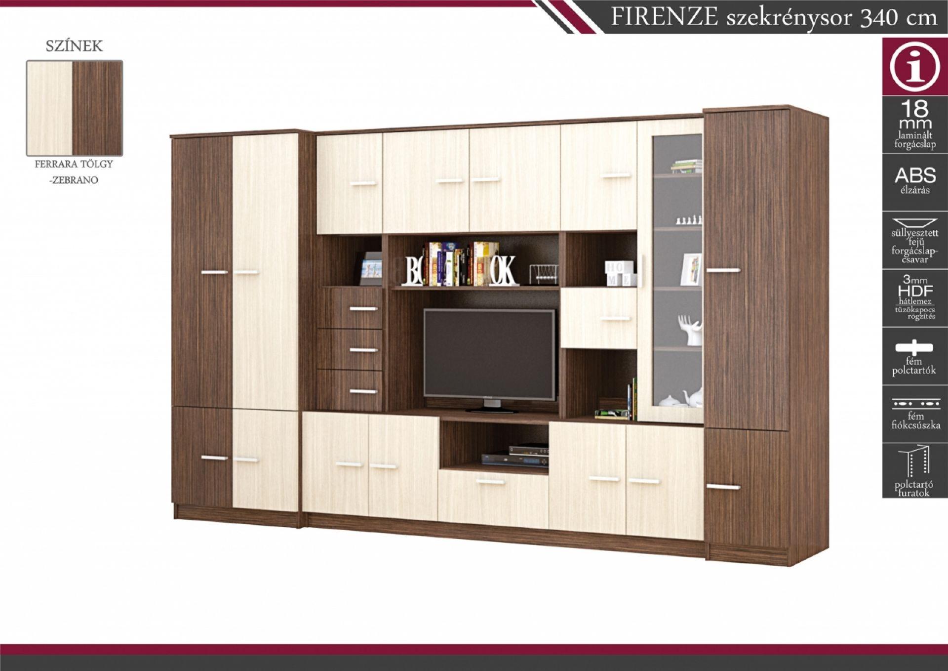 Bútorok olcsón: Nagyszerű nappali szekrénysor honlap itt