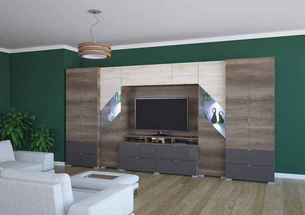 Katar nappali szekrénysor 412